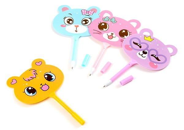 小熊扇子筆-5096