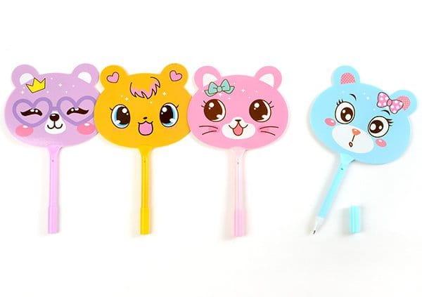 小熊扇子筆-5095