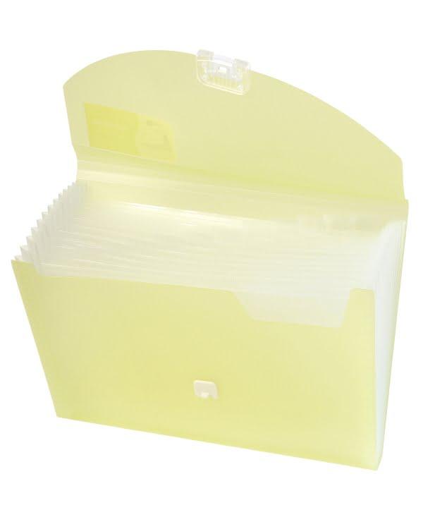 風琴文件夾 (黃色)