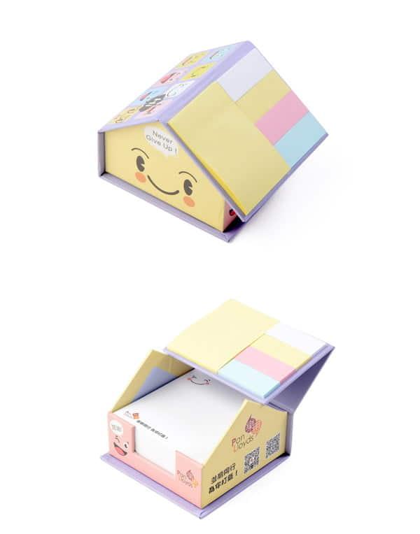 樂思加油屋形Memo禮盒