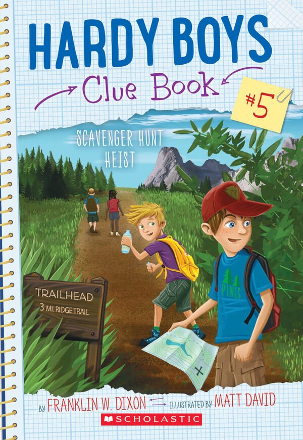 Hardy Boys Clue Book #5: Scavenger Hunt Heist