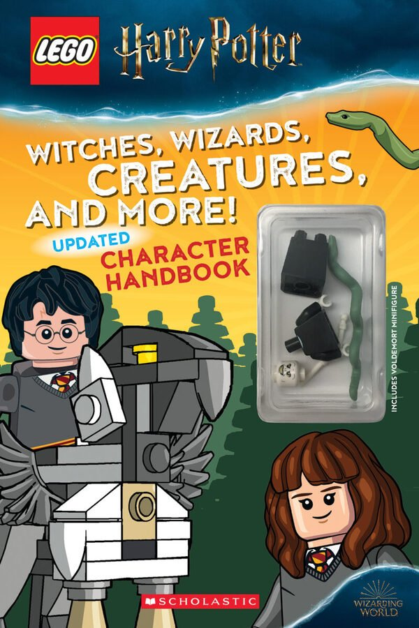 LEGO Harry Potter: Witches, Wizards, Creatures, and More! Updated Character Handbook