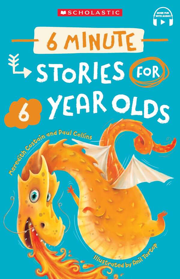 6 Minute Stories for 6 Year Olds (with StoryPlus)